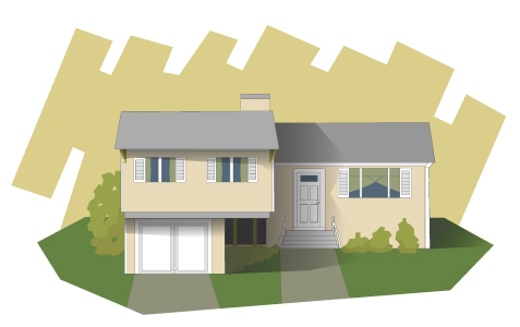 split level housing style home style split level homes before and after before amp after